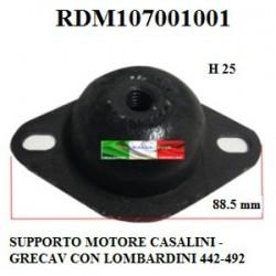 SUPPORTO MOTORE PER LOMBARDINI COMMON RAIL