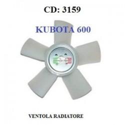 VENTOLA RADIATORE KUBOTA 600