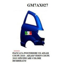 LEFT REAR SIDE AIXAM COUPE '2010 AIXAM VISION COUPE' 2013 PAINTED