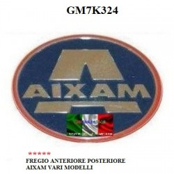 FRONT AND REAR LOGO AIXAM