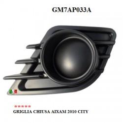 AUTO GRILL GESCHLOSSEN LINKS AIXAM 2010 CITY