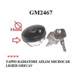 TANK CAP WITH KEY AIXAM -MICROCAR- TASSO- ITALCAR