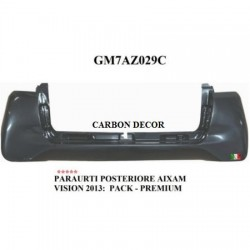 PARAURTI POSTERIORE CARBON DECOR VERSIONE PACK E PREMIUM
