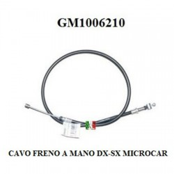 MICROCAR HAND BRAKE CABLE SEE VIEW