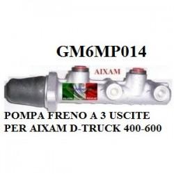 POMPA FRENO A 3 USCITE