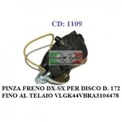 PINZA FRENO ANTERIORE DX/SX PER DISCO D. 172
