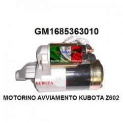 MOTORINO AVVIAMENTO PER KUBOTA 600